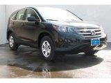 2013 Crystal Black Pearl Honda CR-V LX #87618180