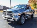 2005 Mineral Gray Metallic Dodge Ram 1500 Laramie Quad Cab 4x4 #87618287