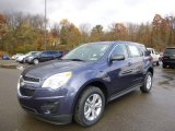 2014 Atlantis Blue Metallic Chevrolet Equinox LS AWD #87665812