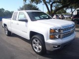 2014 Summit White Chevrolet Silverado 1500 LT Double Cab 4x4 #87666198