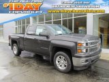 2014 Tungsten Metallic Chevrolet Silverado 1500 LT Double Cab 4x4 #87665519