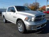 2014 Bright Silver Metallic Ram 1500 Big Horn Crew Cab 4x4 #87666177