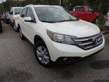 2012 White Diamond Pearl Honda CR-V EX-L #87665972