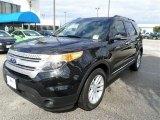 2014 Tuxedo Black Ford Explorer XLT #87665581