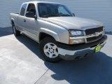 2005 Sandstone Metallic Chevrolet Silverado 1500 Z71 Extended Cab 4x4 #87665930