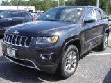 2014 Granite Crystal Metallic Jeep Grand Cherokee Limited 4x4 #87665484