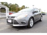 2014 Sterling Gray Ford Focus SE Hatchback #87666054