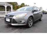 2014 Sterling Gray Ford Focus SE Sedan #87666053