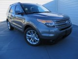 2014 Sterling Gray Ford Explorer Limited #87665920