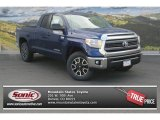 2014 Blue Ribbon Metallic Toyota Tundra SR5 TRD Double Cab 4x4 #87665459