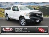 2014 Super White Toyota Tundra SR Double Cab 4x4 #87665458