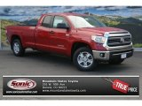 2014 Barcelona Red Metallic Toyota Tundra SR5 Double Cab 4x4 #87665455