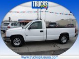 2004 Summit White Chevrolet Silverado 1500 Regular Cab #87666125