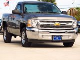 2013 Graystone Metallic Chevrolet Silverado 1500 LS Regular Cab #87666121