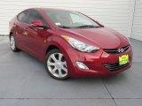 2013 Red Hyundai Elantra Limited #87665914