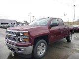 2014 Deep Ruby Metallic Chevrolet Silverado 1500 LT Double Cab 4x4 #87665827