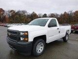 2014 Summit White Chevrolet Silverado 1500 WT Regular Cab 4x4 #87665825