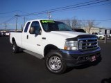 2004 Oxford White Ford F250 Super Duty Lariat SuperCab 4x4 #87666027