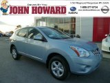 2013 Frosted Steel Nissan Rogue S AWD #87714380
