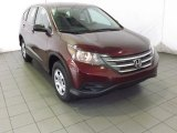 2014 Basque Red Pearl II Honda CR-V LX #87713883
