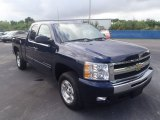 2011 Imperial Blue Metallic Chevrolet Silverado 1500 LT Extended Cab #87714570