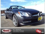 2014 Steel Grey Metallic Mercedes-Benz SLK 350 Roadster #87714070