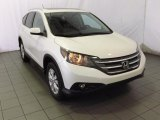 2014 White Diamond Pearl Honda CR-V EX-L #87713882