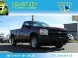 2013 Deep Ruby Metallic Chevrolet Silverado 1500 Work Truck Regular Cab #87714475