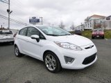 2013 Oxford White Ford Fiesta Titanium Hatchback #87714062