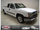 2004 Summit White Chevrolet Silverado 1500 Work Truck Extended Cab #87714272