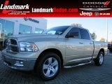 2011 White Gold Dodge Ram 1500 Big Horn Quad Cab #87714142