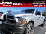 2011 Bright Silver Metallic Dodge Ram 1500 ST Quad Cab #87714141