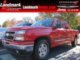 Victory Red Chevrolet Silverado 1500 in 2006