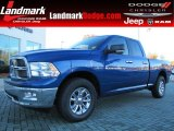 2011 Deep Water Blue Pearl Dodge Ram 1500 Big Horn Quad Cab #87714138
