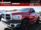 2006 Flame Red Dodge Ram 1500 ST Regular Cab #87714130