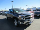 2014 Tungsten Metallic Chevrolet Silverado 1500 LT Double Cab 4x4 #87714345