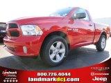 2014 Flame Red Ram 1500 Express Regular Cab #87714126