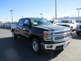 2014 Black Chevrolet Silverado 1500 LT Crew Cab 4x4 #87714340