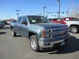 2014 Blue Granite Metallic Chevrolet Silverado 1500 LT Crew Cab 4x4 #87714339