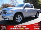 2014 Bright Silver Metallic Ram 1500 SLT Quad Cab #87714116