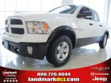 2014 Bright White Ram 1500 Outdoorsman Crew Cab 4x4 #87714113