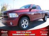 2014 Deep Cherry Red Crystal Pearl Ram 1500 Express Quad Cab #87714110