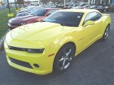 2014 Bright Yellow Chevrolet Camaro LT/RS Coupe #87713854