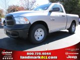 2014 Bright Silver Metallic Ram 1500 Tradesman Regular Cab #87714106
