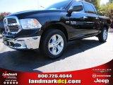 2014 Black Ram 1500 Big Horn Crew Cab 4x4 #87714105