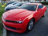 2014 Red Hot Chevrolet Camaro LT Coupe #87713849