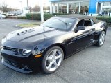 2014 Black Chevrolet Camaro SS Convertible #87713847