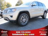 2014 Cashmere Pearl Jeep Grand Cherokee Limited #87714095