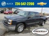 2005 Dark Blue Metallic Chevrolet Silverado 1500 LS Extended Cab #87714325