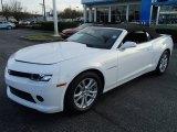 2014 Summit White Chevrolet Camaro LT Convertible #87713841